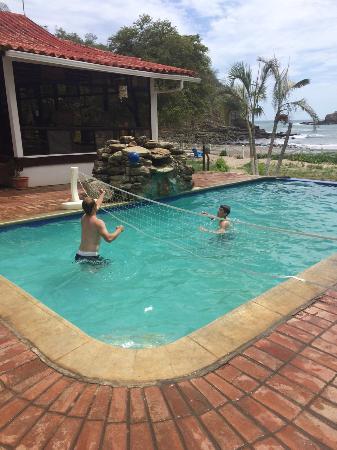 Rancho Cecilia Nicaragua: Pool at Playa Marsella