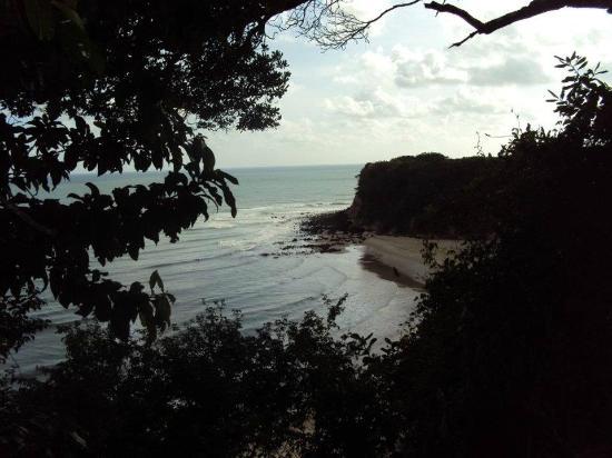Hotel Village Natureza Beach Resort: Vista de frente do chalé.