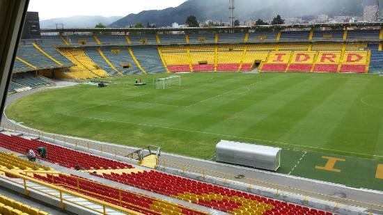 Estadio Nemesio Camacho : Visão dos camarotes.