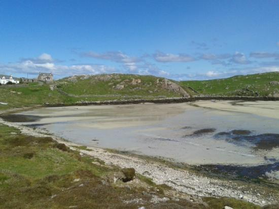 Outer Hebrides, UK: White shell Beaches