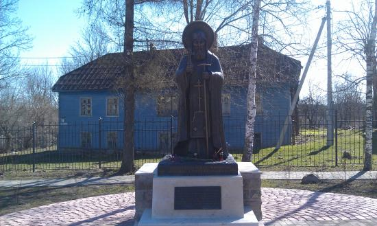Памятник Преподобномученнику Корнилию Игумену Псково-Печерскому