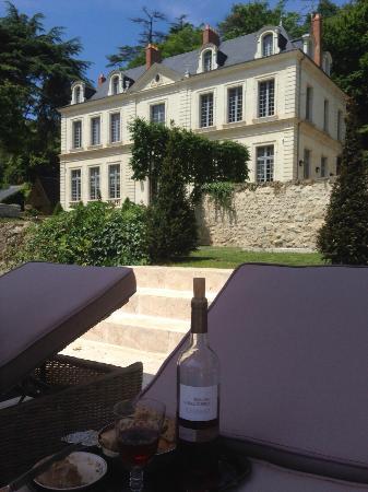 La maison picture of chateau de l 39 olivier rochecorbon for Chateau olivier