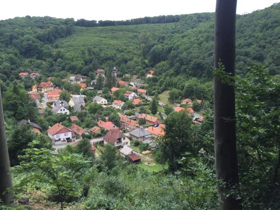State Forest Railways of Lillafured: Nice little village's view
