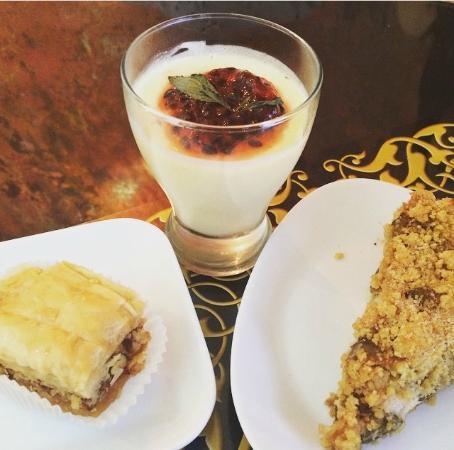 Marjaba Cafe: Dessert