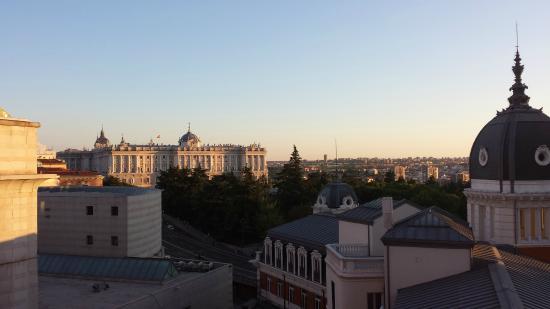 Espahotel Plaza de Espana : Palacio Real desde la habitación 706