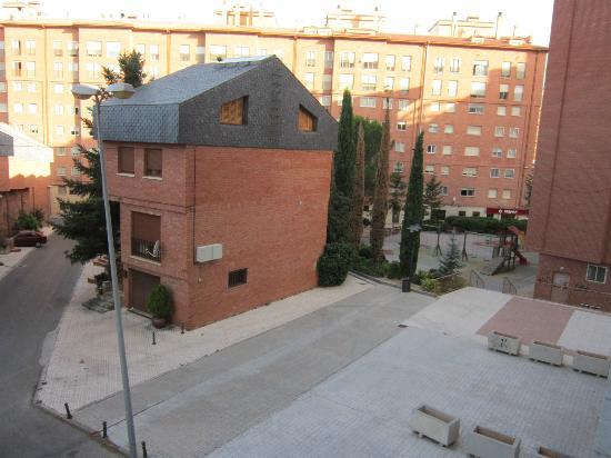 Hotel Suite Camarena Plaza: vistas desde la habitación