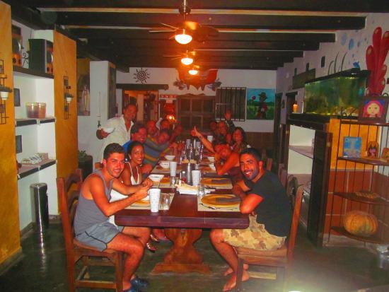 Posada Lagunita: comedor de lagunita