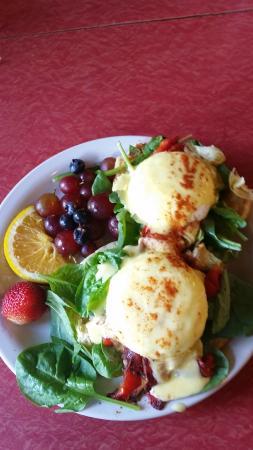 Melanie's Food Fantasy: Eggs Davinci