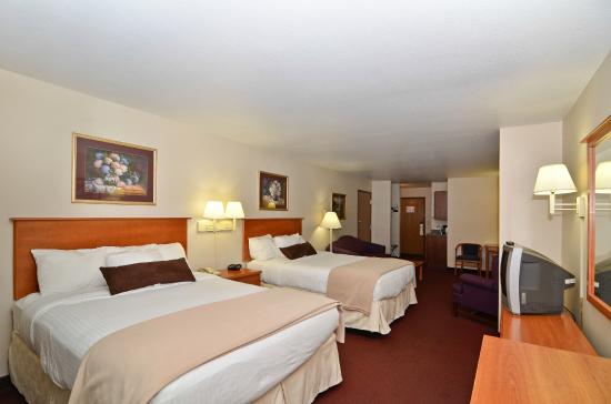 Best Western Plus Sparta Trail Lodge: Double room