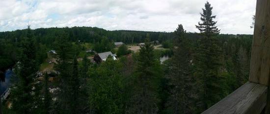 Moulin des Pionniers : Vue du site