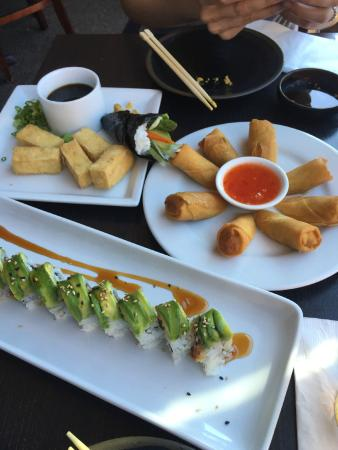 Sushi on the Rock: Assorted menu items