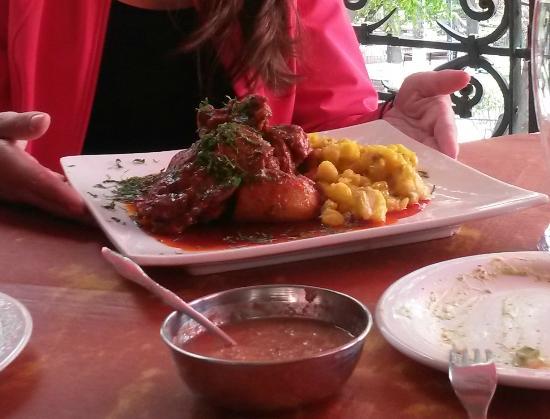 Restaurant La Plaza : Mondongo Chuquisaquenho