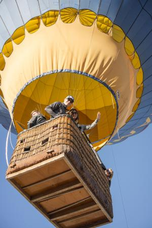 Camelot Balloons: up up away