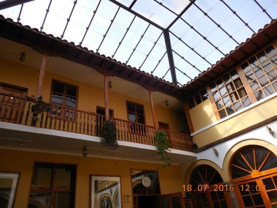 Los Andes De America Hotel: Entrada