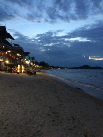 Cocooning Hotel: lovely beach and restaurants!