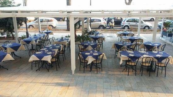 Sapori Mediterranei Ristorante Pizzeria: il gazebo