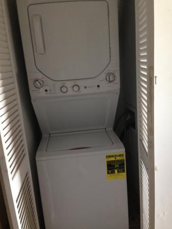 Century 1 Condominium: New washer/dryer combo.