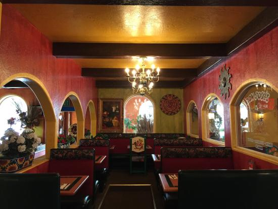 Mexican Restaurant Decor beautiful decor, great bar and patio! - picture of don jose's