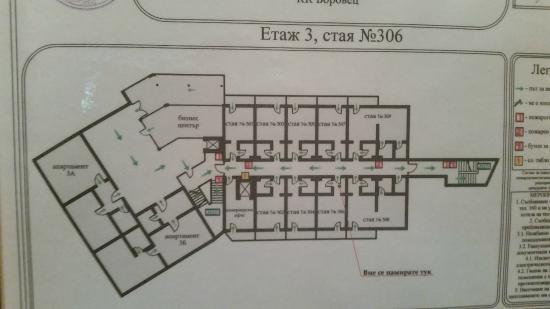 hotel yastrebets wellness spa floor plan - Spa Floor Plan