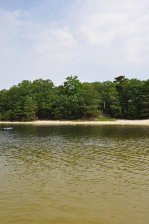 Swainton, Nueva Jersey: The lake at the resort