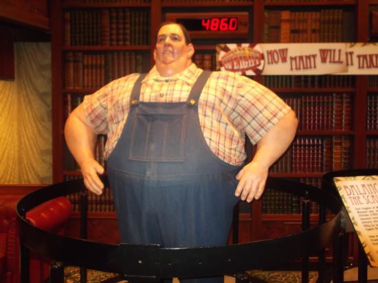 Worlds fattest midget