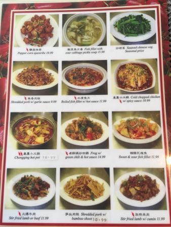Wei Mei Chinese Restaurant Menu