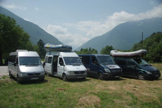 Bovec, สโลวีเนีย: Best fleet at the Soca Valley