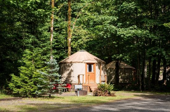 Mt Hood Village RV Resort: Yurt rental