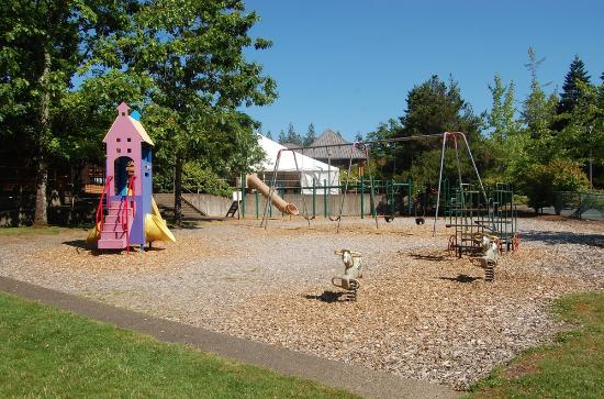 Mt Hood Village RV Resort: Playground area
