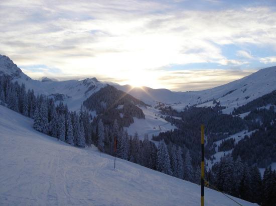 Tschentenalp: Skigebiet