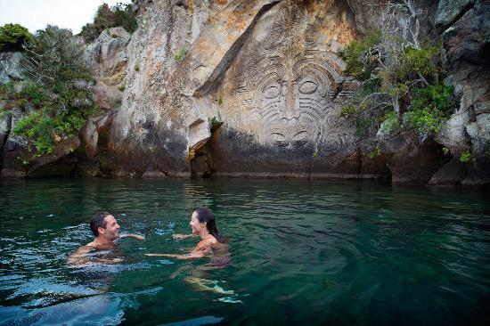 New Zealand: Mine Bay, Taupo