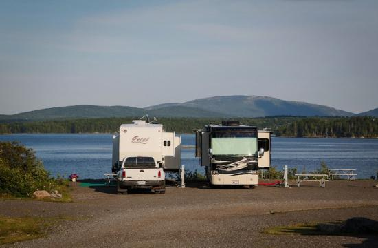 Narrows Too Camping Resort: Waterfront sites