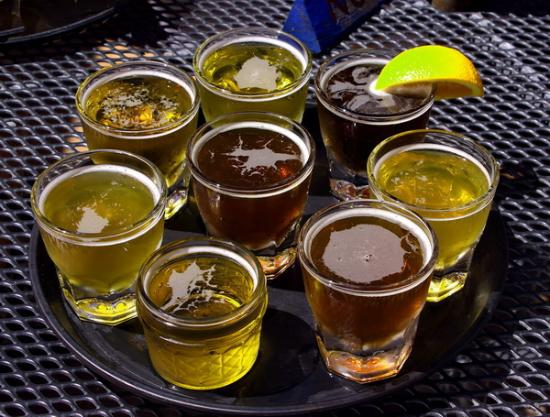 Palisade, CO: The 8-beer sample tray