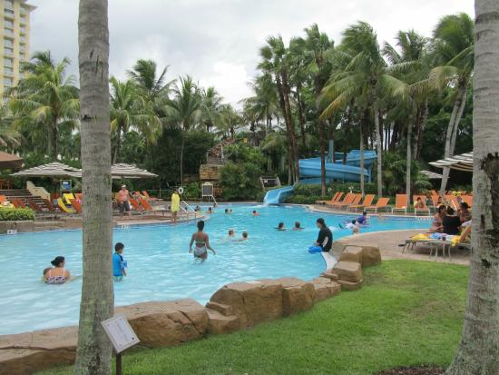 Hyatt Regency Coconut Point Resort And Spa Family Water Slide Pool