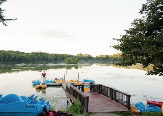 O'Connell's Yogi Bear Park: Boat dock and marina