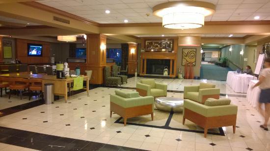 hilton garden inn las colinas lovely lobby - Hilton Garden Inn Las Colinas