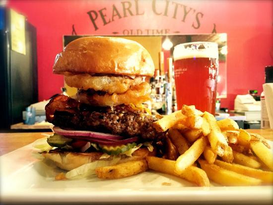 Pearl City, IL: The Ringer Burger