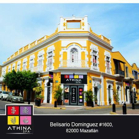 Athina Spa: Beautiful historic Casona in Downtown Mazatlan
