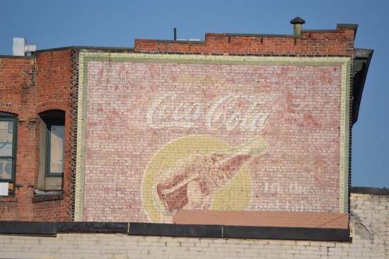 Downtown Spokane: Old wall sign