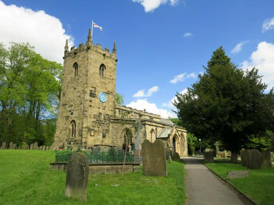 Eyam Parish Church of St Lawrence