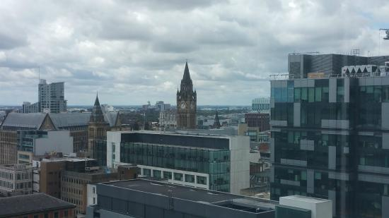 Mercure Manchester Piccadilly Hotel: view