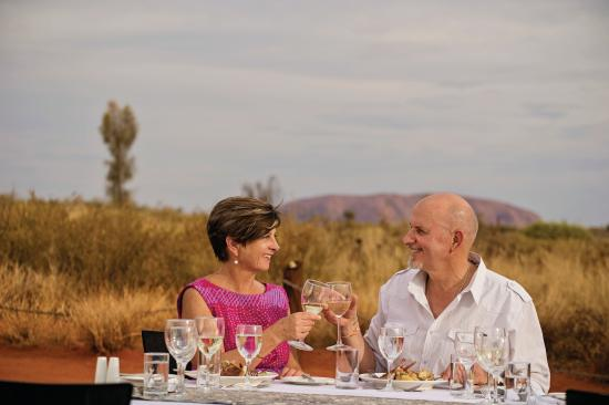 Yulara, Australie : Sounds of Silence Dinner, Uluru- Kata Tjuta National Park