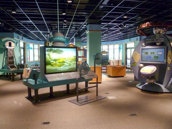 Water Resources Education Center: kids will love this hands on area and learn too!