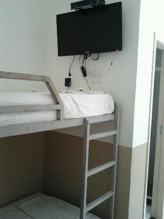Samba Palace Hostel: Quarto solteiro