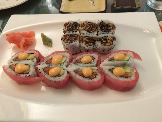 House of Hong Incorporated: Love roll and salmon roll- both good