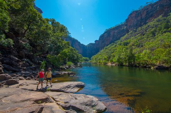 Territoire du Nord, Australie : Jim Jim Falls, Kakadu National Park