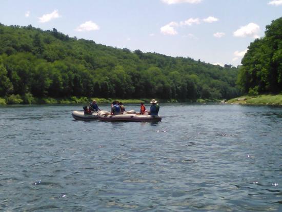 Narrowsburg, estado de Nueva York: rafting trip