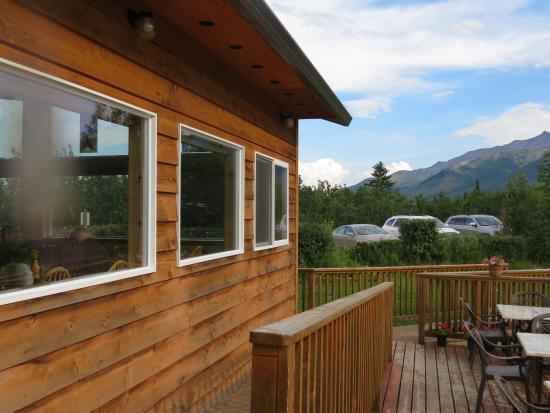 Black Diamond: Back porch with view