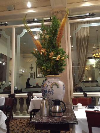 Villa Florence: Restaurante.