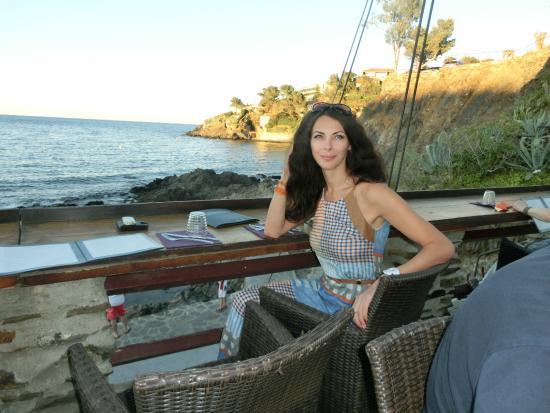 la voile : Ужин с видом на море!